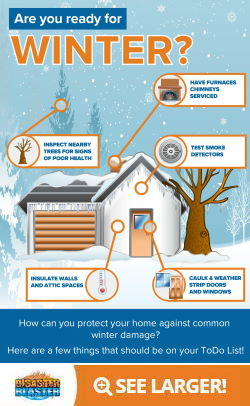 Are you ready for winter Infographic