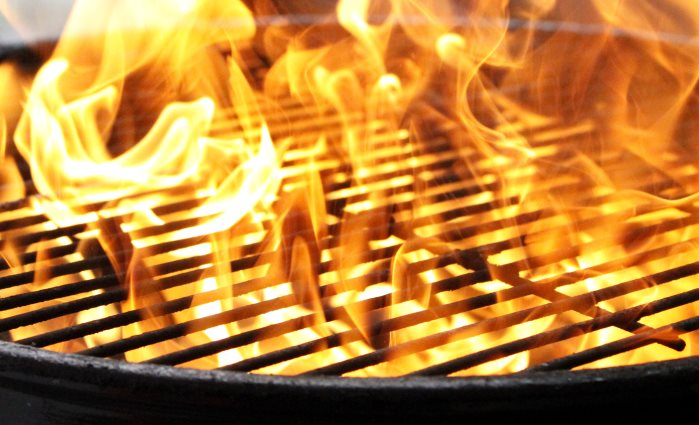 Grill Safety Flare Ups