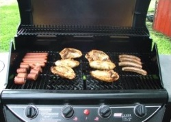 Fire Smoke Grill Safety