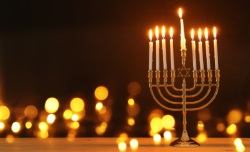 Hanukkah candle safety