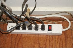 Overloaded Power Strip