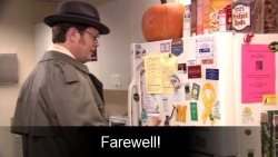 Scranton says farewell to The Office